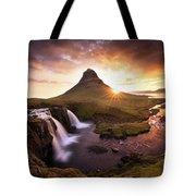 Waterfall Fantasy Tote Bag