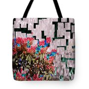 Waterfall Flowers 2 Tote Bag