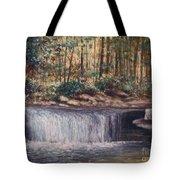 Waterfall Glory Tote Bag