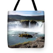 Waterfall - Godafoss Tote Bag
