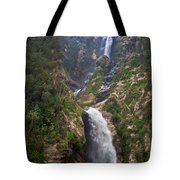 Waterfall Highlands Of Guatemala 1 Tote Bag