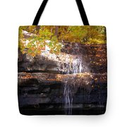 Waterfall In Creve Coeur Tote Bag
