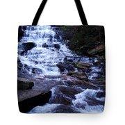 Waterfall In Georgia Tote Bag