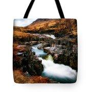 Waterfall In Glencoe Tote Bag