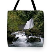 Waterfall In La Fortuna Tote Bag