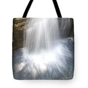 Waterfall In Nh Splash 3 Tote Bag