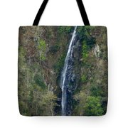 Waterfall In The Intag 2 Tote Bag