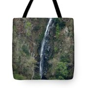 Waterfall In The Intag 3 Tote Bag