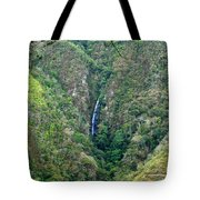 Waterfall In The Intag 4 Tote Bag