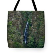 Waterfall In The Intag 5 Tote Bag