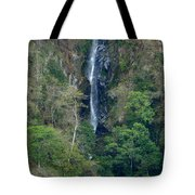 Waterfall In The Intag 6 Tote Bag