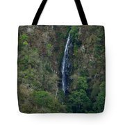 Waterfall In The Intag Tote Bag