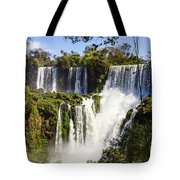 Waterfall In The Jungle Tote Bag