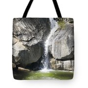 Waterfall Into The Feather River Tote Bag