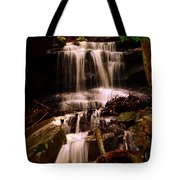 Waterfall Mcconnells Mills State Park Tote Bag