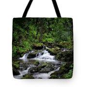 Waterfall Medley Tote Bag