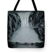 Waterfall Of Life Tote Bag