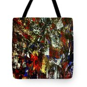 Waterfall Of Wishes In Red Tote Bag