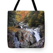 Waterfall Off Blue Ridge Parkway Tote Bag