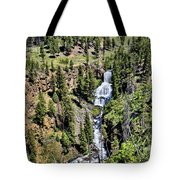 Waterfall On Lava Creek 1 Tote Bag
