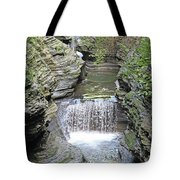 Waterfall Rocks Foliage Pond 2 9132017 Tote Bag