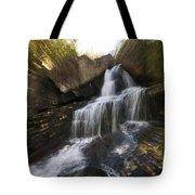 Maine Waterfall Tote Bag