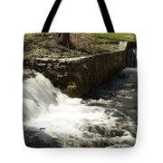 Waterfall Times Two Tote Bag
