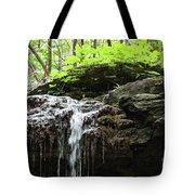 Waterfall Topper Tote Bag