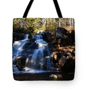 Waterfall, Whitewall Brook Tote Bag