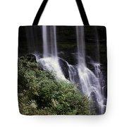 Waterfall Wildflowers Tote Bag