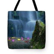 Waterfall02 Tote Bag by Carlos Caetano