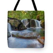 Waterfalls At Sweet Creek Falls Trail Tote Bag