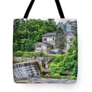 Waterfalls Cornell University Ithaca New York 04 Tote Bag