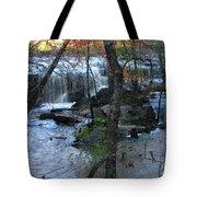 Waterfalls In Morning Tote Bag
