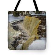 Waterfalls Upper Tahquamenon -6049 Pure Michigan Tote Bag