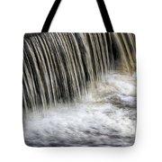 Waterflow Waterfall On A Small Creek Tote Bag