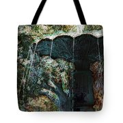 Waterfountain In Charleston Park Tote Bag