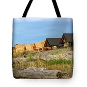 Waterfront Condominiums On The Beach Of Semiahmoo Bay Tote Bag