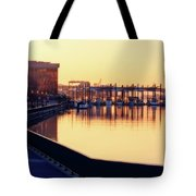 Waterfront Deep Tote Bag