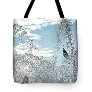 Waterfront Fountain Tote Bag