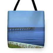 Waterfront Pier Tote Bag