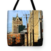 Waterfront Stop Tote Bag