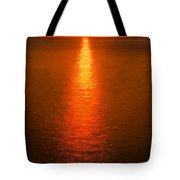 Waterfront Sunrise Tote Bag
