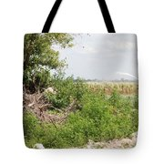 Watering The Weeds Tote Bag
