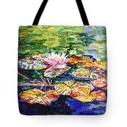 Waterlilies Impressionism Tote Bag
