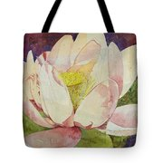 Waterlily Collage Tote Bag