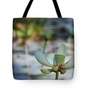 Waterlily Wash Horizontal Tote Bag