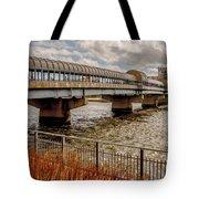 Waterloo Iowa Bridge Tote Bag