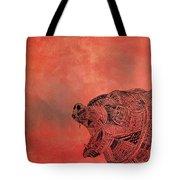 Watermelon Bear Tote Bag
