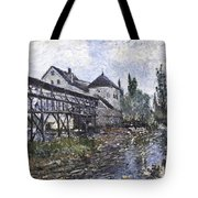 Watermill Near Moret Tote Bag